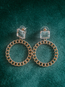 Glacier Chain Hoops