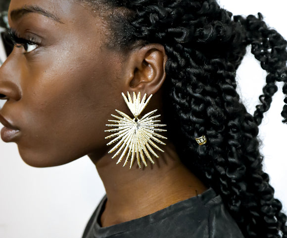 Sunbeam Drop Earrings