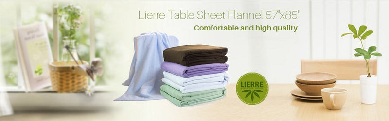 Most popular types of massage sheets for practitioners from Lierre