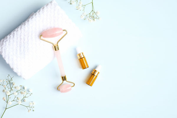 Skin Benefits of Amethyst, Rose Quartz, and Green Aventurine Facial Rollers