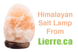 Himalayan Salt Lamp from Lierre.ca Canada