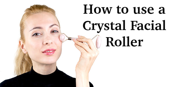 How to Use a Crystal Facial Roller Lierre Canada