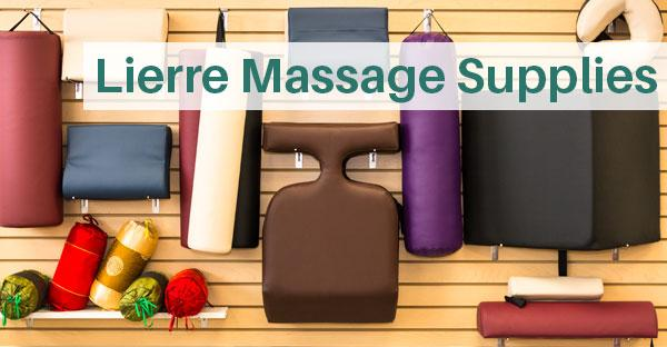 Massage table supplies from Lierre.ca Canada