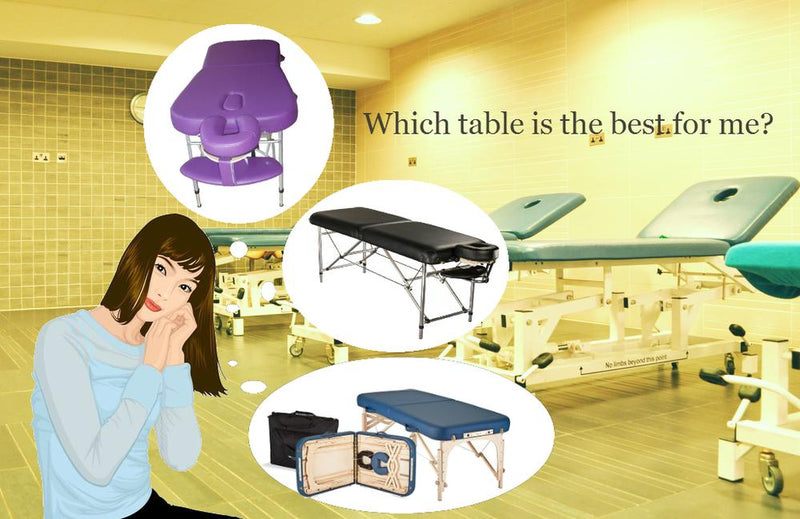 Massage Tables from Lierre.ca