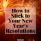 2020 New Year's Resolutions Guide/ Ideas from Lierre.ca Canada