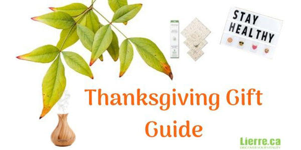 Thanksgiving Gift Guide Lierre Canada