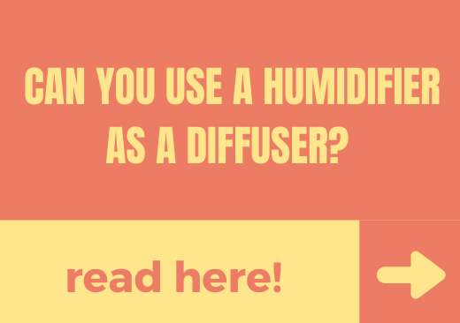 Can You Use A Humidifier As A Diffuser – read here!