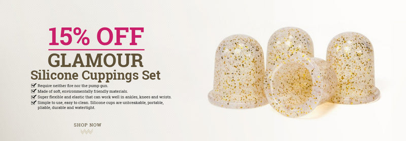 Lierre Glamour silicone cupping set