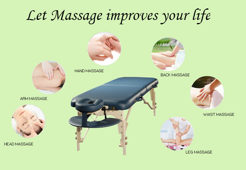 Shop massage table and foam at lierre