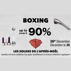 save during the best boxing day deals 2019 in Canada at Lierre.ca