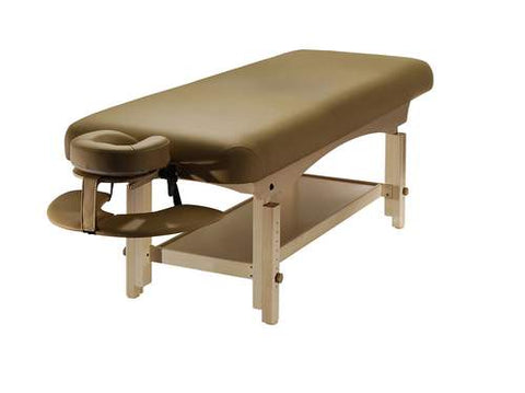 Basic stationary massage table from Lierre.ca in Canada