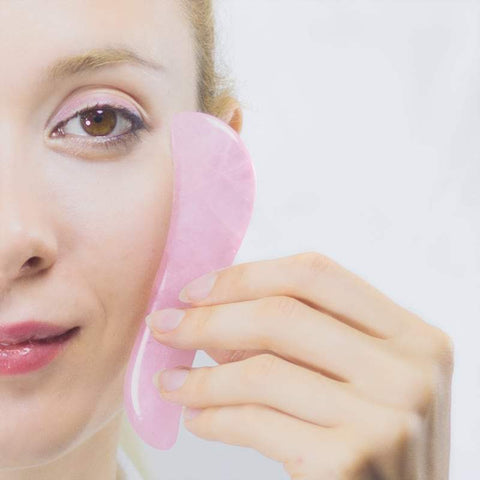 Rose quartz gua sha tool black friday deals | lierre.ca
