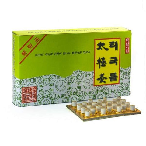 Tae Keuk Stick-on Moxa for moxibustion in Canada - Lierre.ca