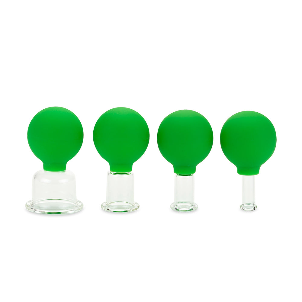Jade Soft® Glass Facial and Body Cupping Set (4PCS)