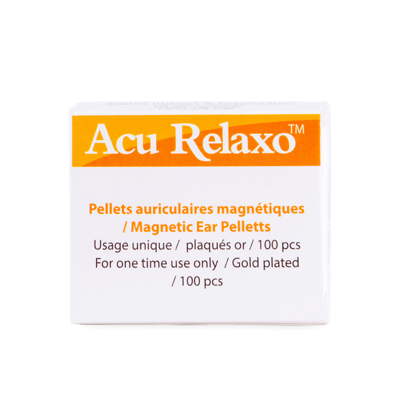 Acu Relaxo Gold-plated Magnetic Pellets 100 Gauss Ear pellets