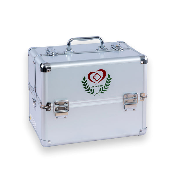 Aluminum medical carry case