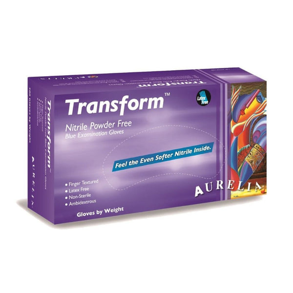 Aurelia Transform  Nitrile Gloves 100PCS