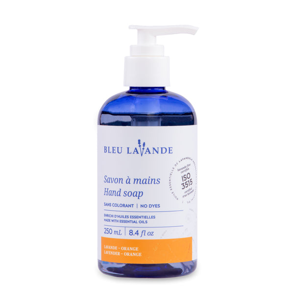 Bleu Lavender Hand Soap (Orange)