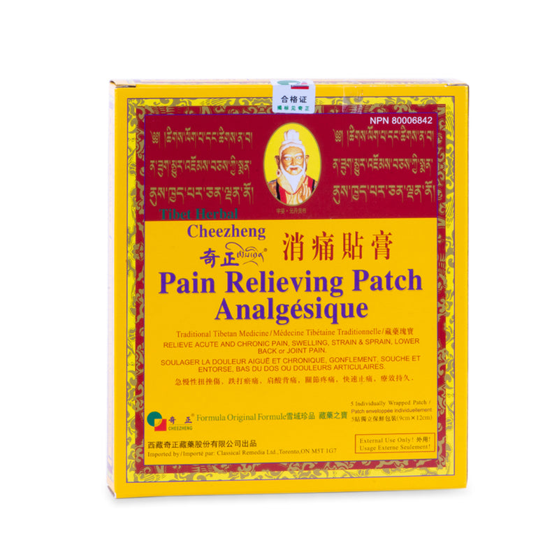 Pain Relieving Patch Analgésique (5 patch)