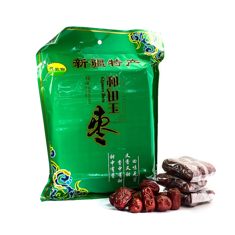 Dried Jujubes (Red Dates) - 454g