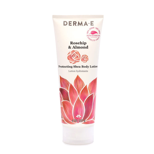 Derma E Rosehip & Almond Protecting Karité Body Lotion