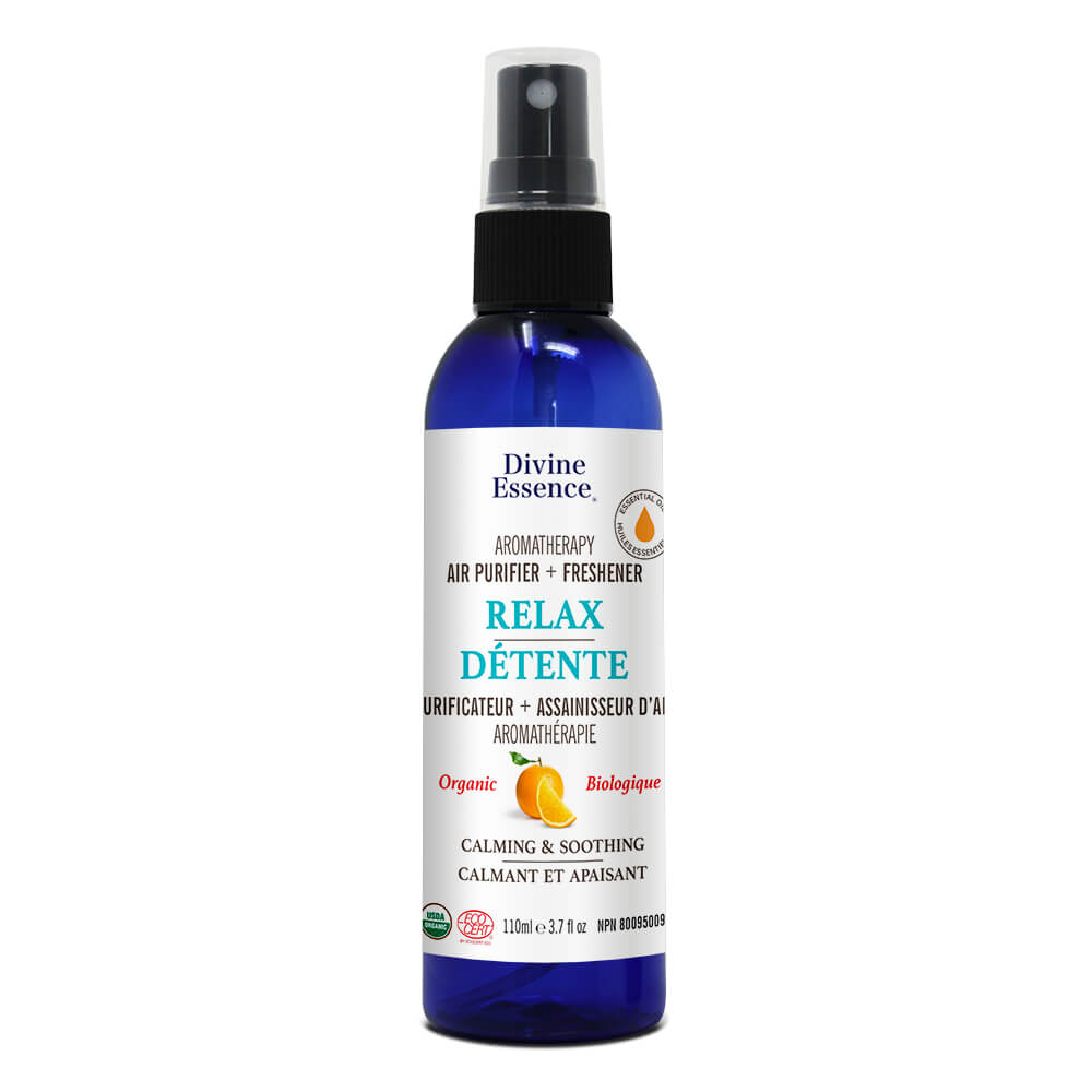 Purificateur d'air Divine Essence + Désodorisant-Relaxation 110ml