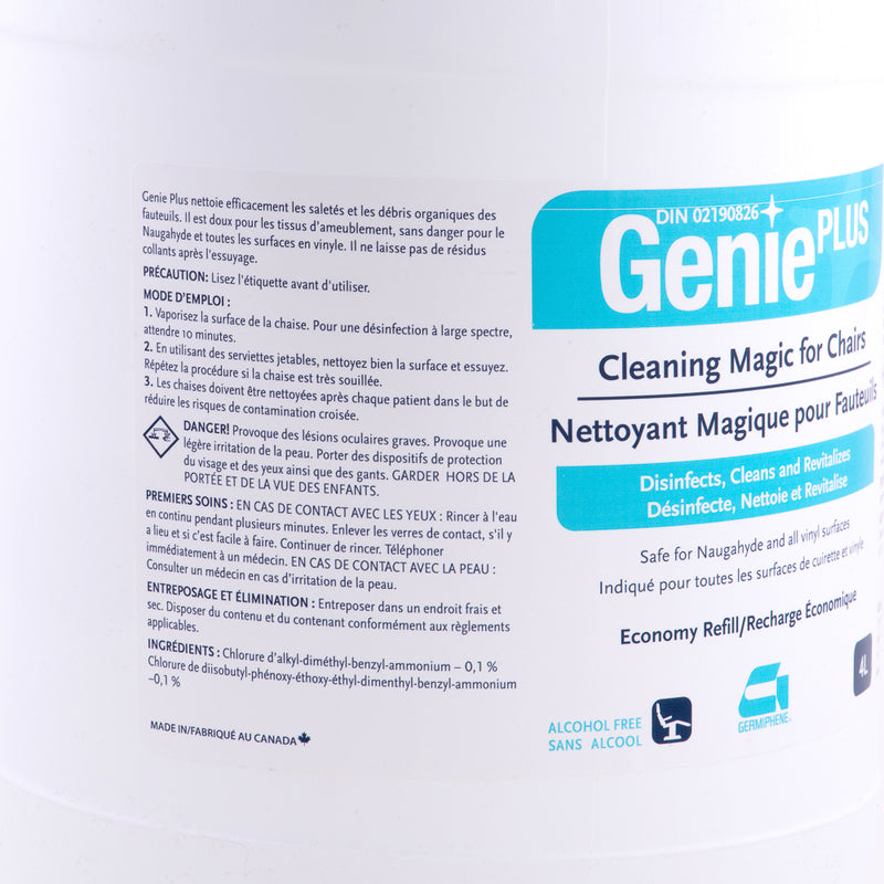 Genie Plus Chair Disinfectant and Cleaner Wipes 160pcs