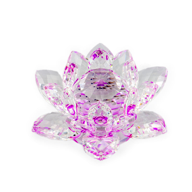 Glass Crystal Lotus