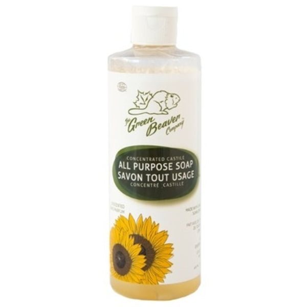 Green Beaver Concentrated All Purpose Castile Soap Unscented