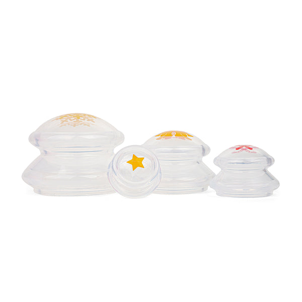 Holiday Limited Edition Clear Silicone Cupping Sets (4pcs)