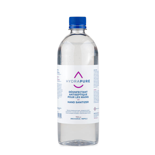 Hydrapure disinfectant Hand Sanitizer with 70% alcohol