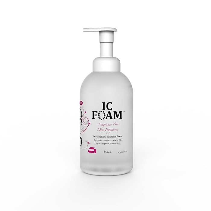 IC-Foam Antiseptic Skin Cleanser (Hand Sanitizer) 550ml