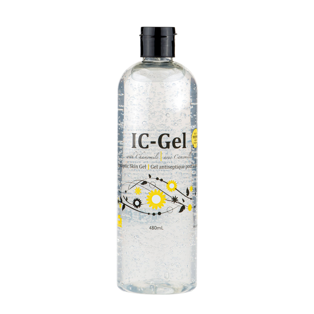 IC-GEL, Antiseptic Skin Gel (Hand Sanitizer)