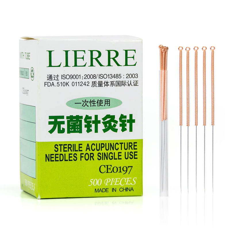 Lierre 5 Bulk Acupuncture Needles 500 / box