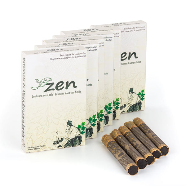 Zen Smokeless Moxa Rolls Pack