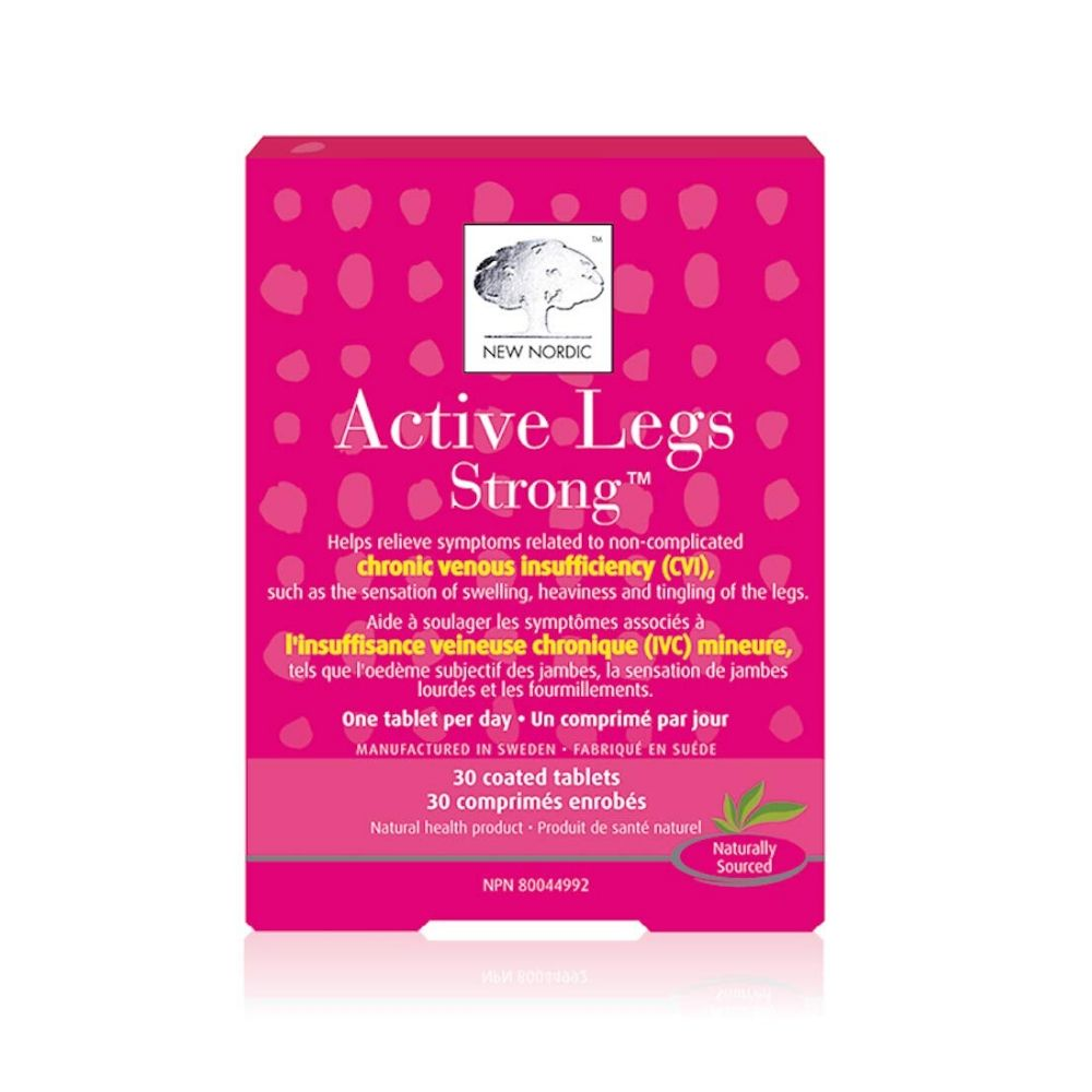 New Nordic Active Legs Strong Tablets | Lierre.ca