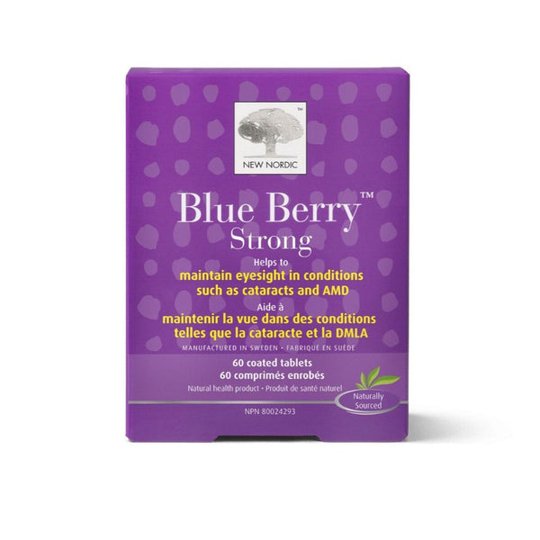 New Nordic Blue Berry Strong Eyesight Management Tablets | Lierre.ca