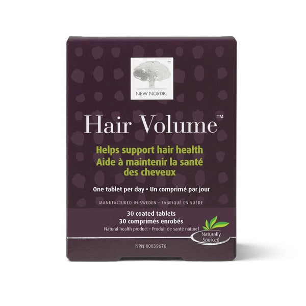 New Nordic Hair Volume Coated Tablets