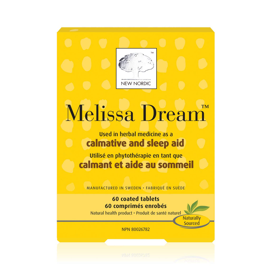 New Nordic Melissa Dream Tablets | Lierre.ca