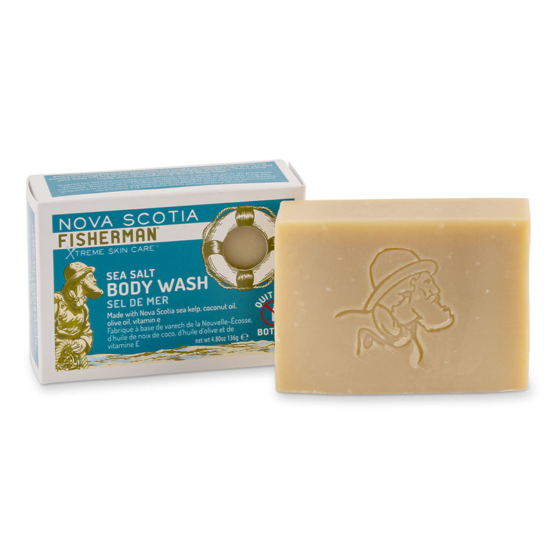 Nova Scotia Fisherman Soap Bar - Sea Salt 136g