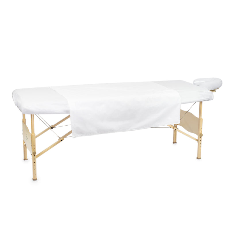 Percale massage table sheet set 3pcs