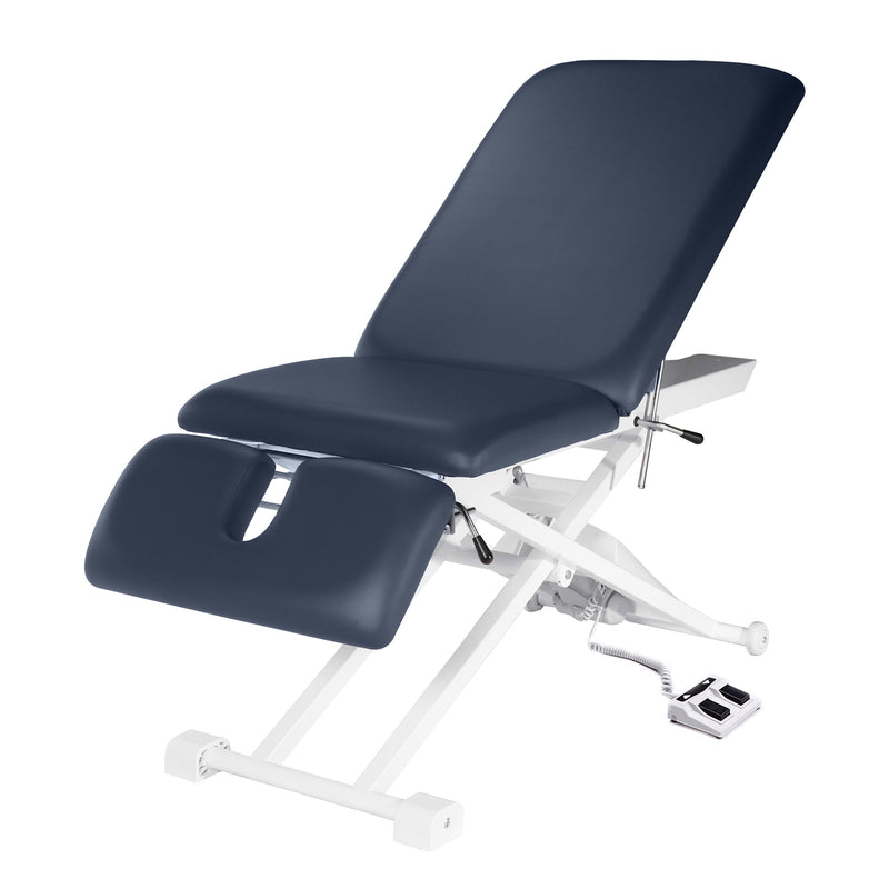 "Powerlift Ergonomic Massage Table 27"" with Foot Pedal"