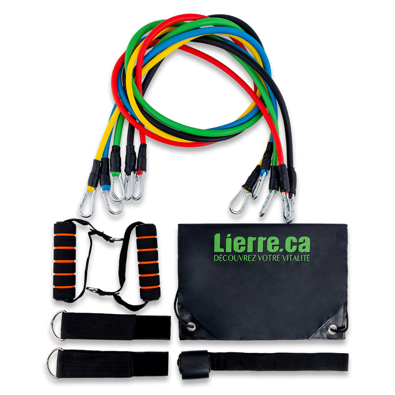 Lierre Resistance Tube Bands Set