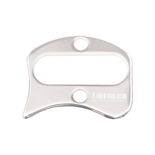 Stainless Steel IASTM Gua Sha Scraping Tools (G Shape) - Lierre