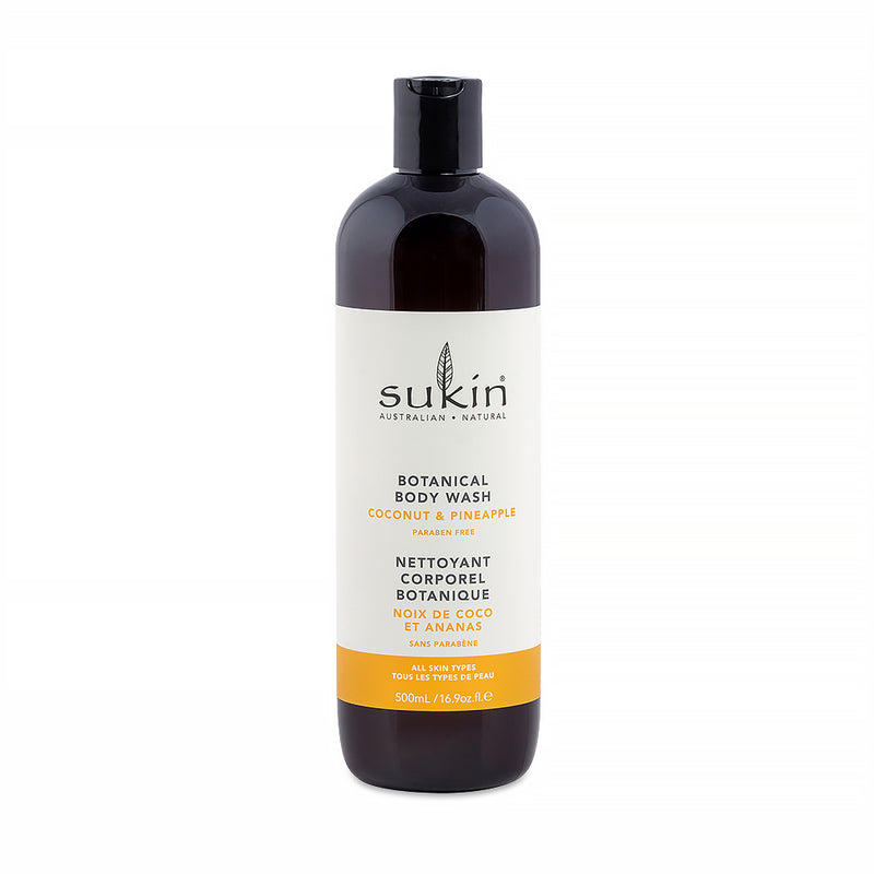 Sukin Botanical Body Wash Coconut & Pineapple 500ml