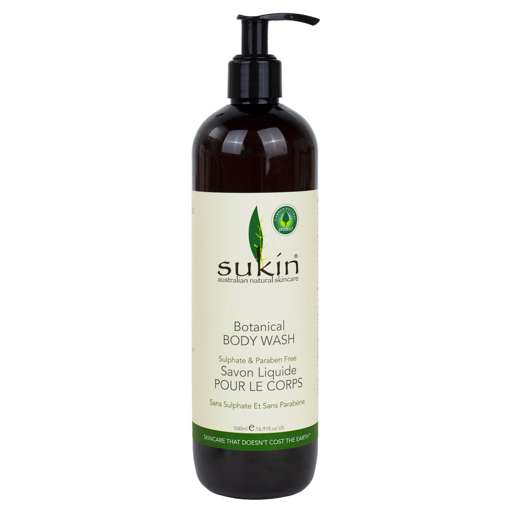 Sukin Botanical Body Wash 500ml