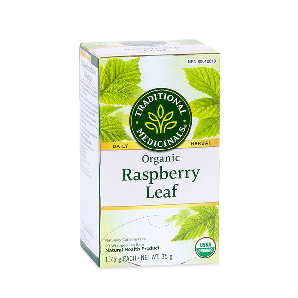Traditional Medicinals Tea - Organic Raspberry Leaf - 35g, 20 tea bags