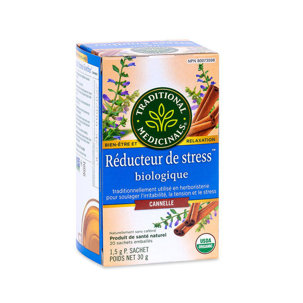 Traditional Medicinals Tea - Organic Stress Soother - 30g, 20 tea bags