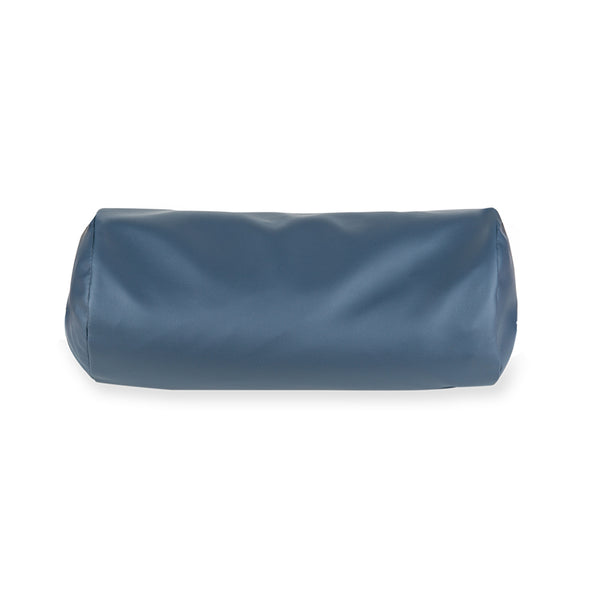 "Vinyl PU leather Covered Buckwheat Hull Bolster 6""x13"""