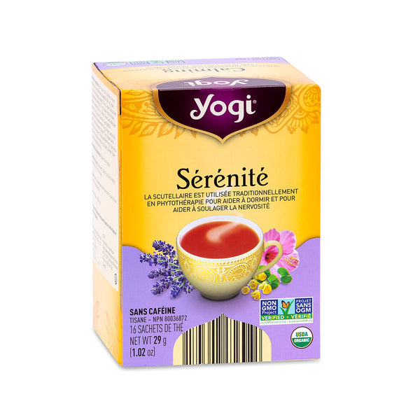 Yogi Tea Calming Organic Herbal Tea, 29 g 16 tea bags
